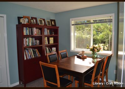 Oceanview Seniors Manor Library and Crafts Room